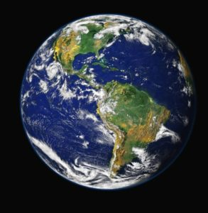 why earth is blue