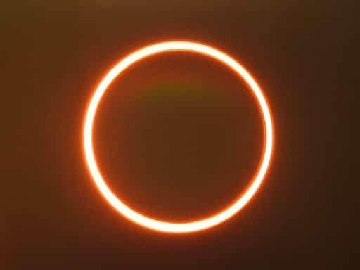 annular solar eclipse in hindi